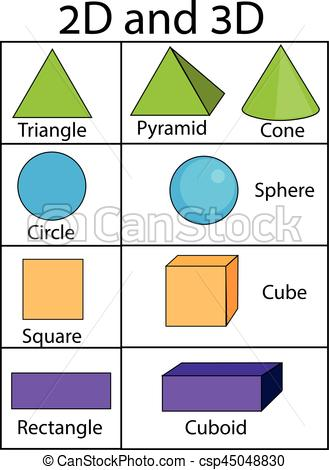 Geometric Shapes Clipart