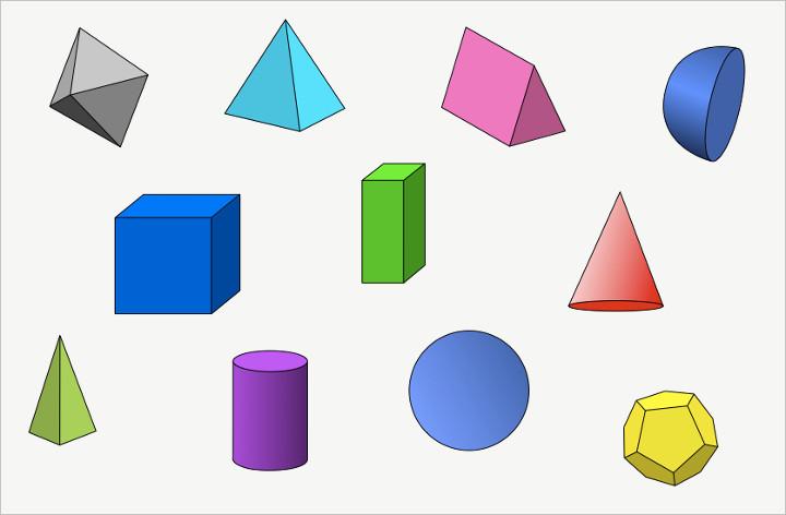 720x472 Free Clip Art 3d Shapes Free Clip Art Of Geometric Shapes Alihkan.us