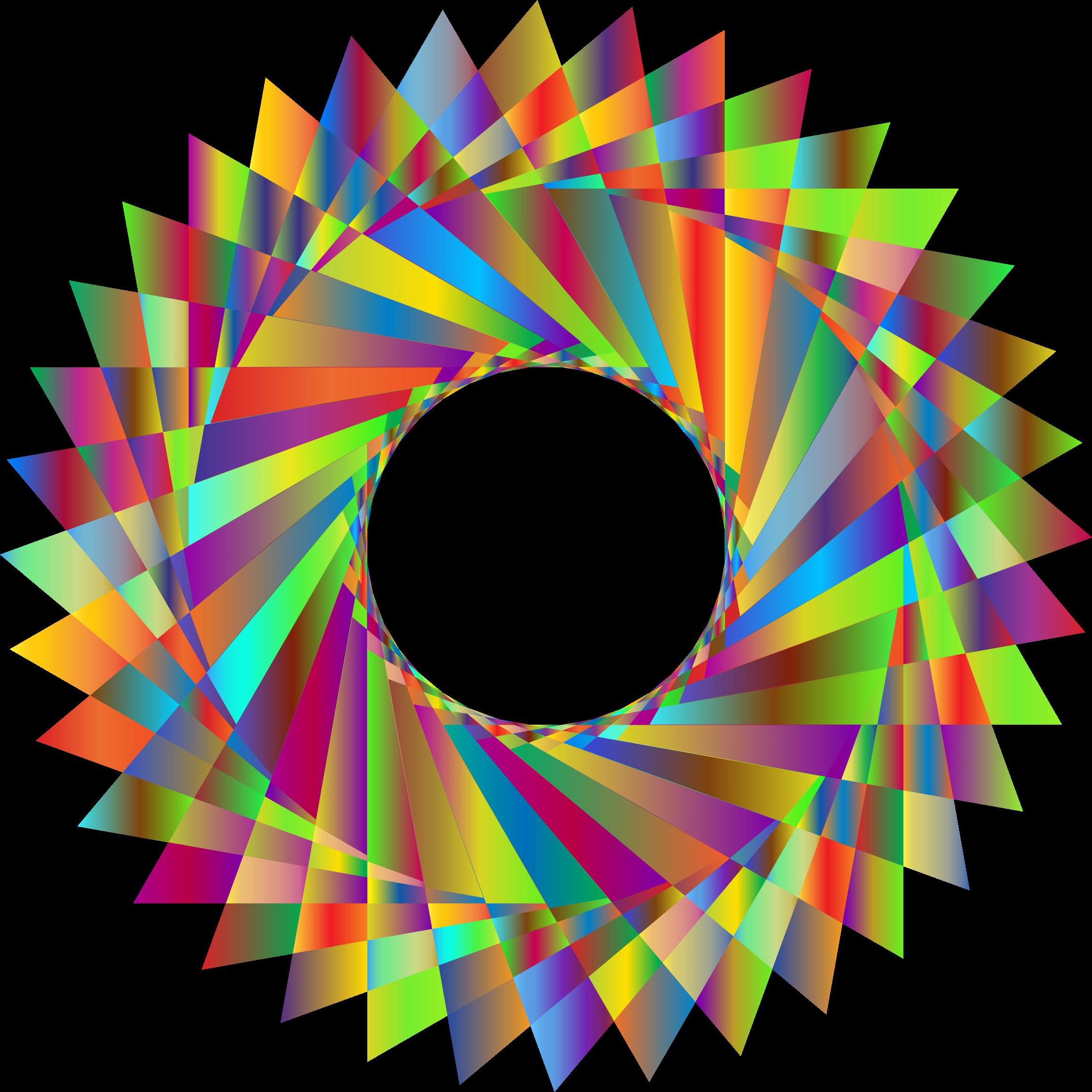 2316x2316 Prismatic Geometric Shape Icons Png