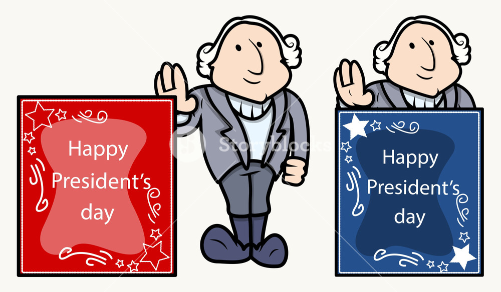 1000x584 Happy Presidents Day Banner George Washingtons Cartoon Clip Art