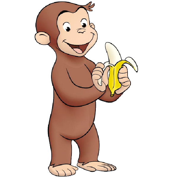 600x600 Curious George