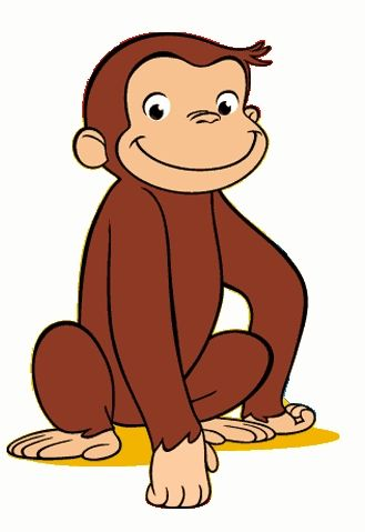 329x479 Attractive Design Ideas Curious George Clipart Free Printable