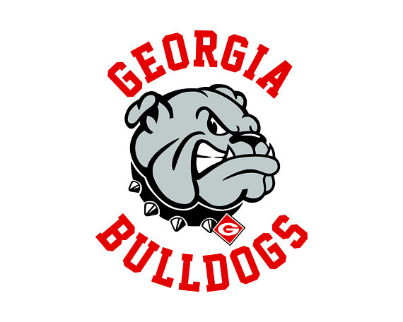 570x456 Georgia Bulldogs Cut Files Georgia Bulldogs Svg Files