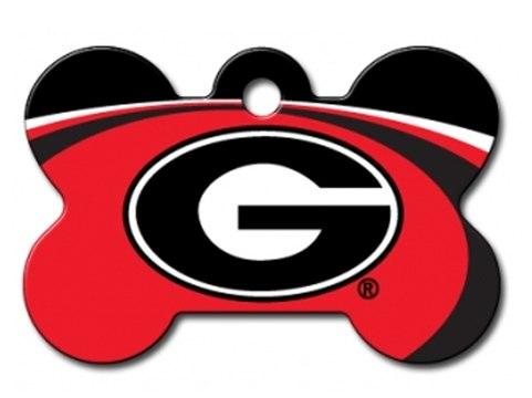 481x360 Georgia Bulldogs Engraved Pet Id Tag