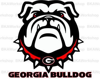 340x270 Georgia Bulldog Svg Etsy Ca