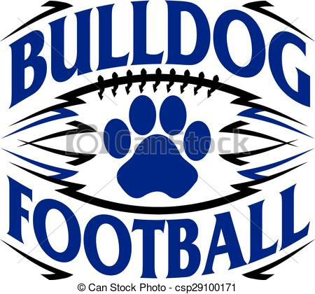 450x420 Collection Of Bulldog Football Clipart High Quality, Free