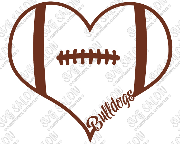 625x500 Football Laces Clipart Of Georgia Bulldogs Fan Football Laces