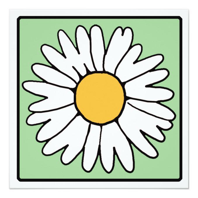 678x678 Cartoon Clip Art Garden Gerber Daisy Bridal Shower Gtgt Wedding