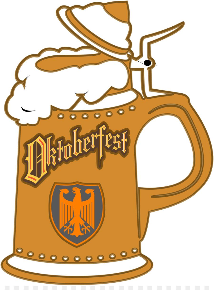 900x1220 Beer Stein Oktoberfest German Cuisine Clip Art