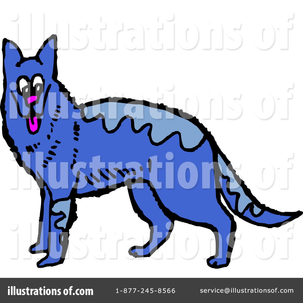 1024x1024 German Shepherd Clipart
