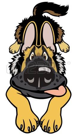 258x450 German Shepard Clip Art Clipart Collection