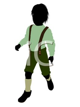 263x350 Clipart Illustration Of A Boy Wearing Lederhosen