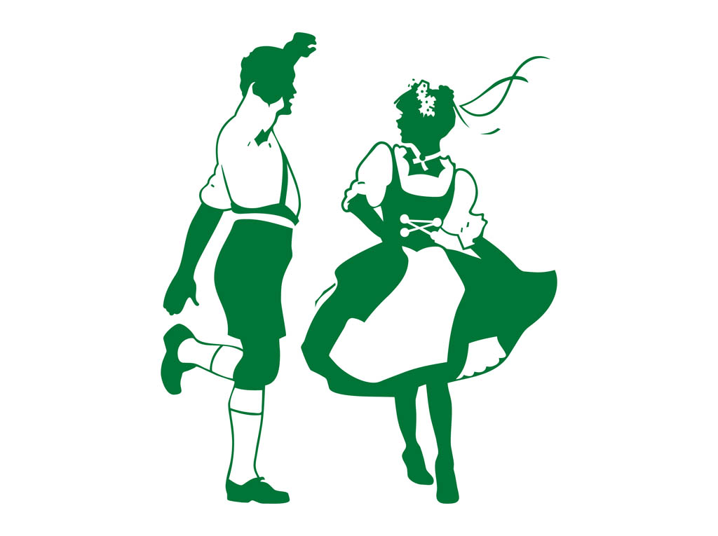 1024x765 Dancing German People Vector Art Amp Graphics