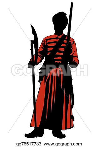 317x470 Old Soldier Clipart