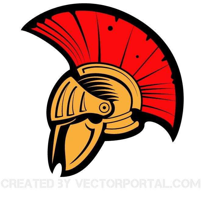 660x660 Ancient Helmet Clip Art Vector