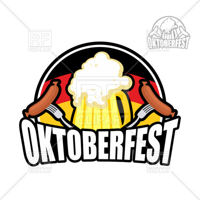 400x400 Beer Festival Oktoberfest In Germany. Beer Mug Poster. Royalty