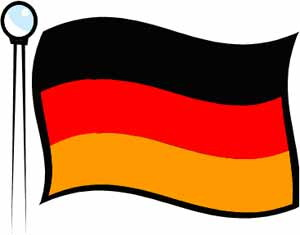 300x235 Germany Flag Clipart