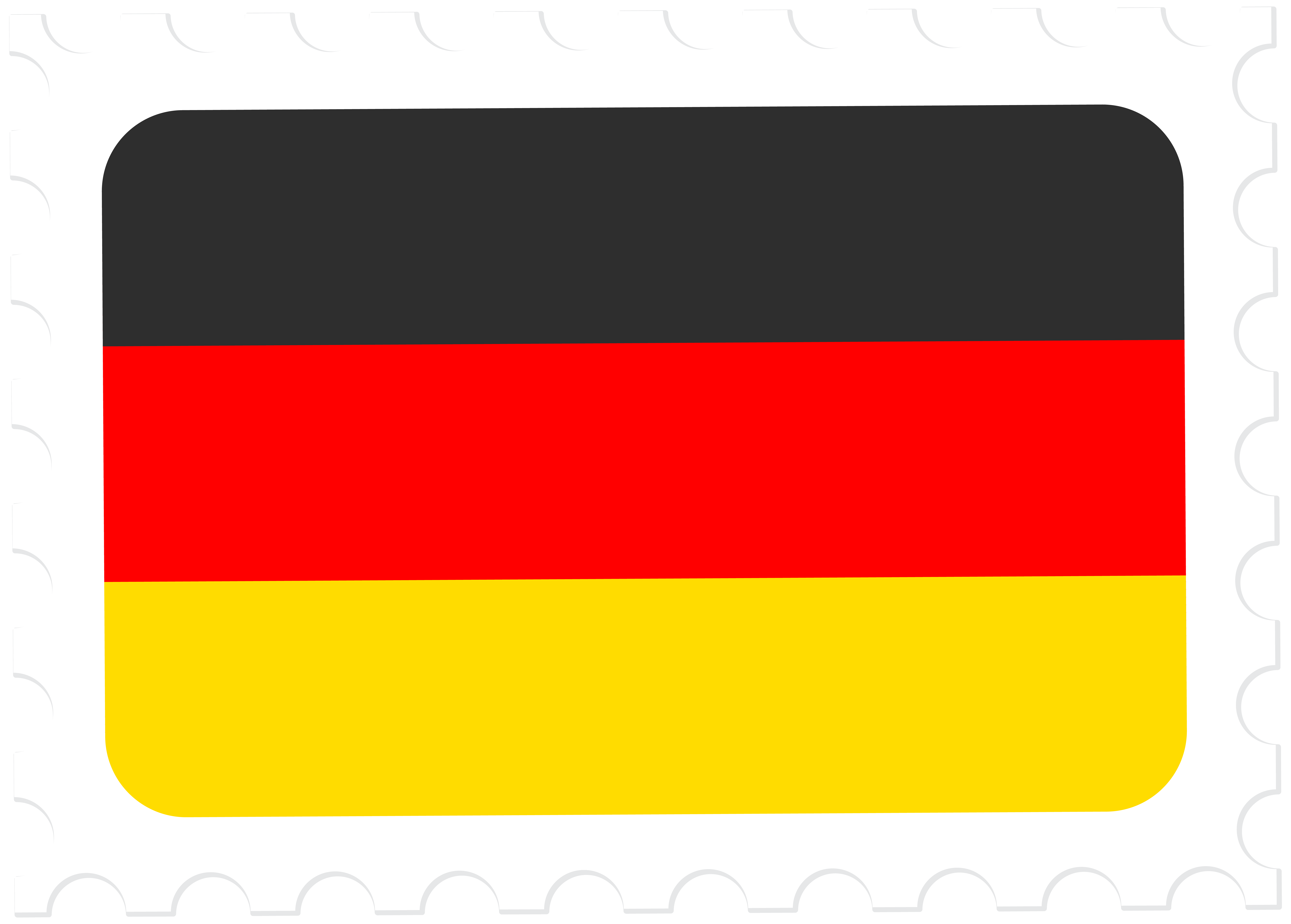 8000x5729 Germany Flag Postage Stamp Png Clip Art Imageu200b Gallery