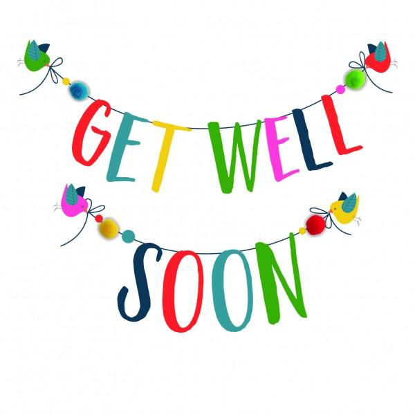 600x600 Get Well Soon (Pom Pom Range)