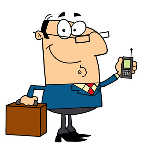 285x300 Businessman Clipart Image