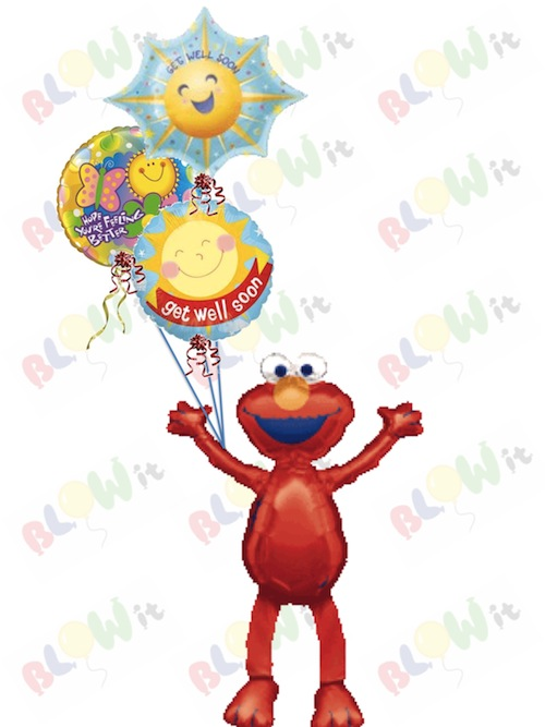 500x667 Get Well Soon Balloon Bouquets In Toronto From Blowit.ca