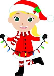 213x300 Girl Elf Clipart