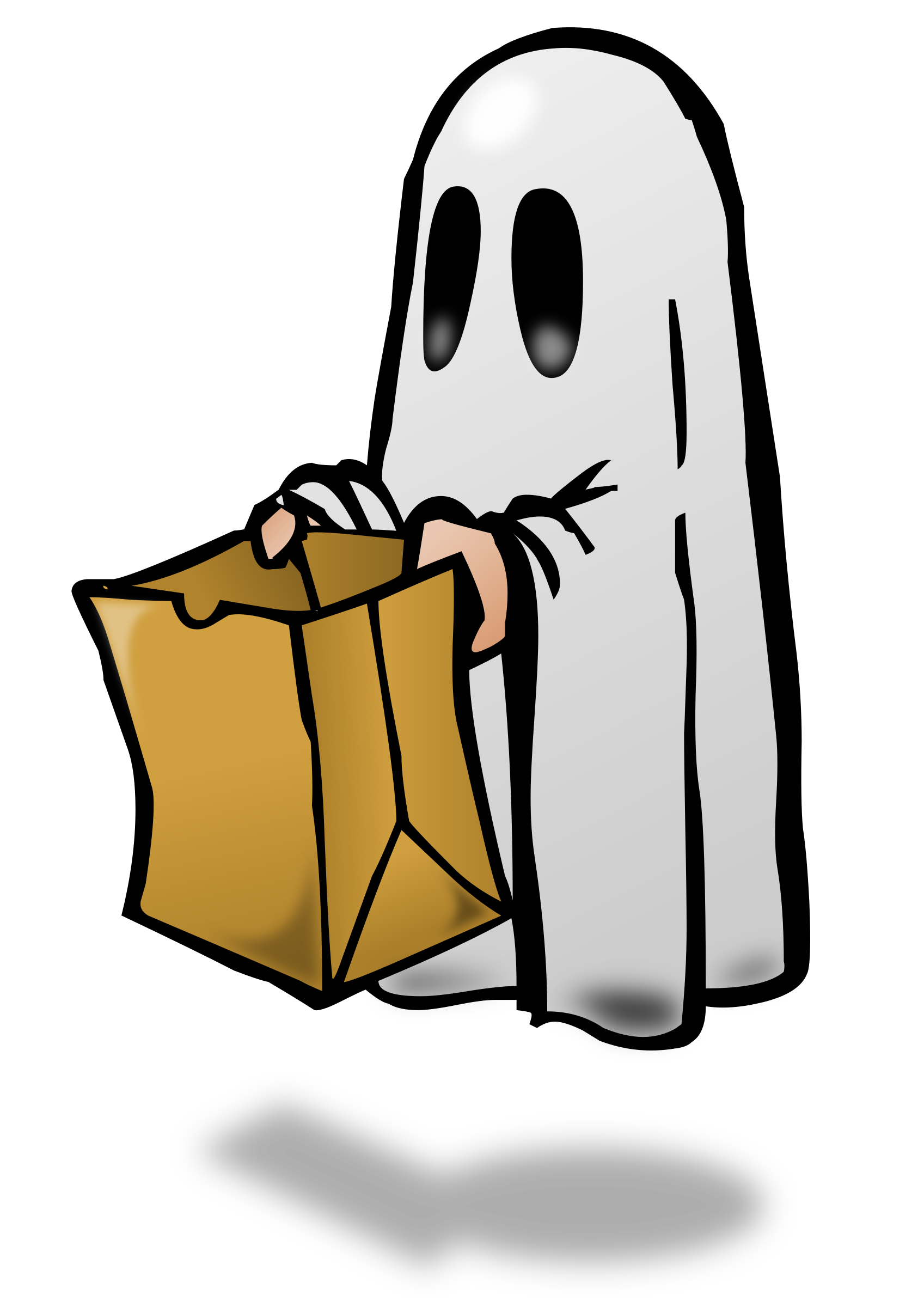 1697x2400 Trunk Or Treat Ghost Trick Or Treat Vector Clipart Free