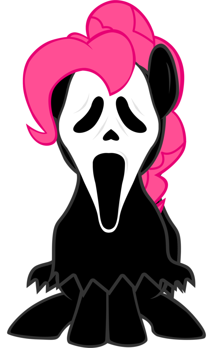 700x1142 Pinkie Pie Ghost Face By Lcpsycho