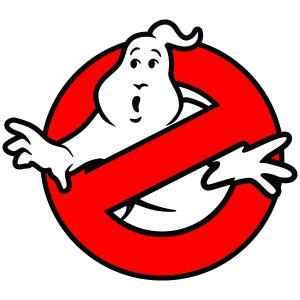 300x300 Ghost Ghostbuster Cuttable Design Cut File. Vector, Clipart