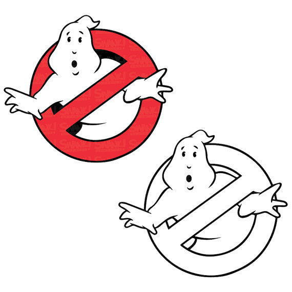 570x570 Ghostbusters Logo Clipart Svgepspng File Personal Amp