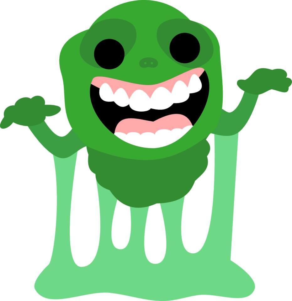 931x960 Svg Cutting Files Slimer Junior