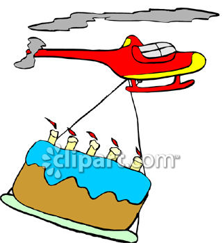321x350 Helicopter Carrying Giant Birthday Cake