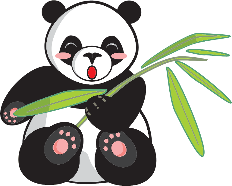 770x617 Panda Clipart Free To Use Public Domain Giant Panda Clip Art