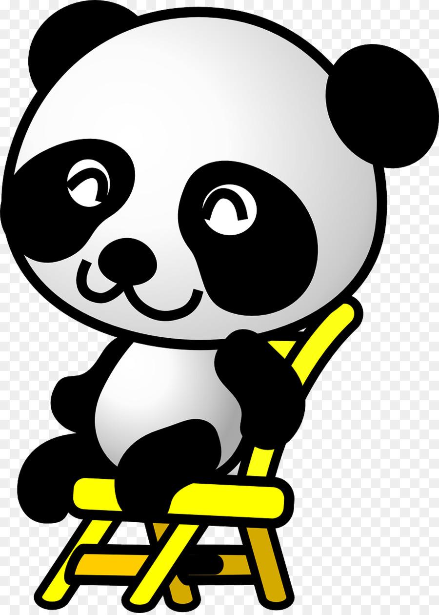 900x1260 Giant Panda Bear Cartoon Clip Art