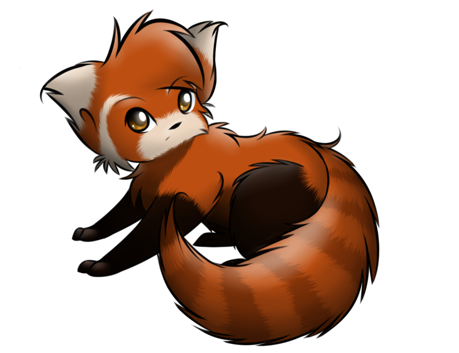 900x692 Red Panda How To Draw A Chibi Panda Free Download Clip Art 2