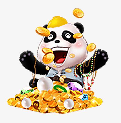 500x507 Treasure Happy Panda, Treasure, Happy, Giant Panda Png Image