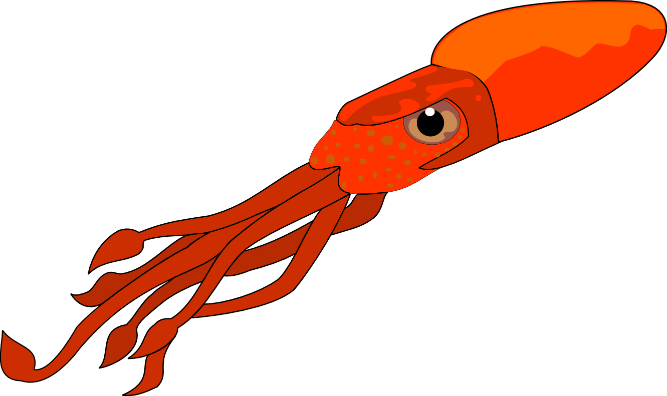 Giant Squid Clipart