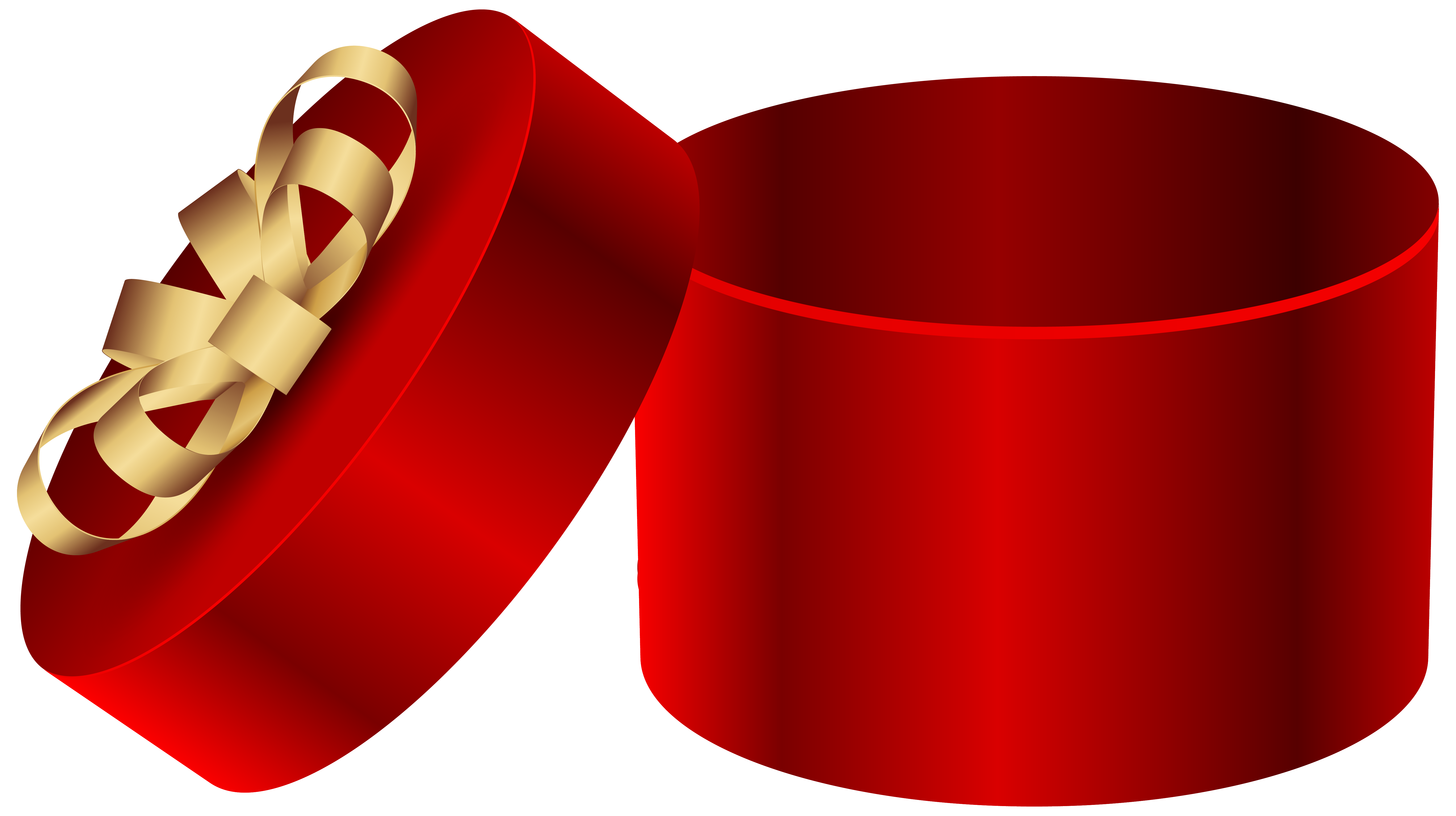 6172x3458 Red Open Round Gift Box Png Clipart Imageu200b Gallery Yopriceville