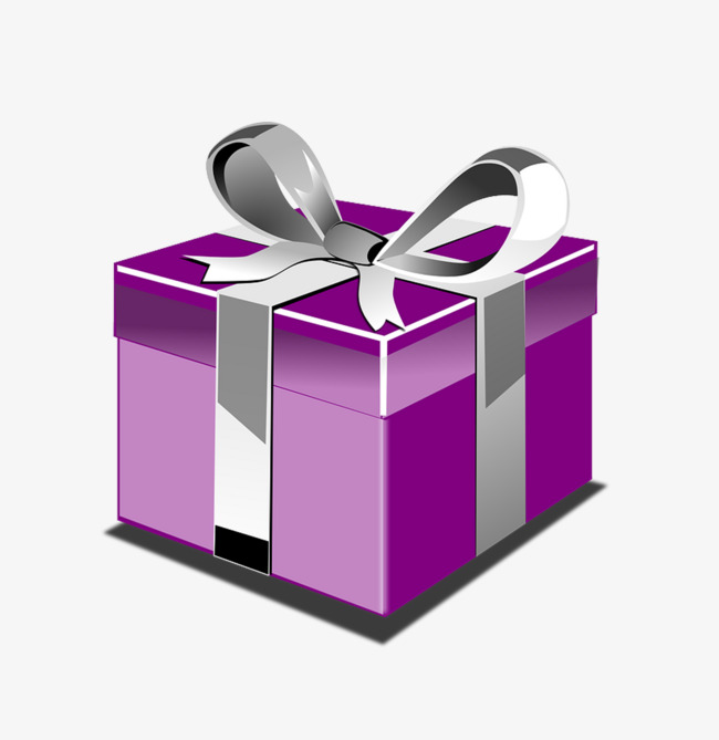 650x669 Simple Purple Gift Box Icon, Purple, Simple, Gift Png Image
