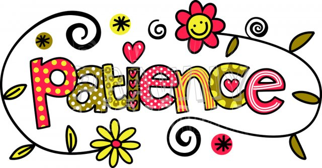 640x334 Patience Clipart Group