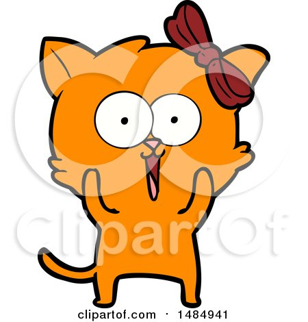 450x470 Cartoon Clipart Ginger Marmalade Kitty Cat By Lineartestpilot