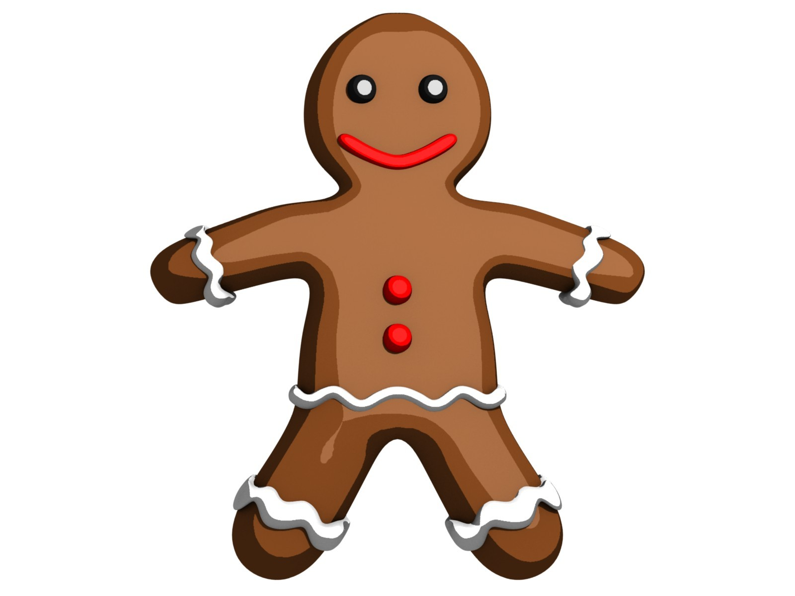 1600x1200 Ginger Clipart Gingerbread Person