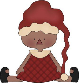 334x349 Christmas Little Girl Clip Art Clip Art
