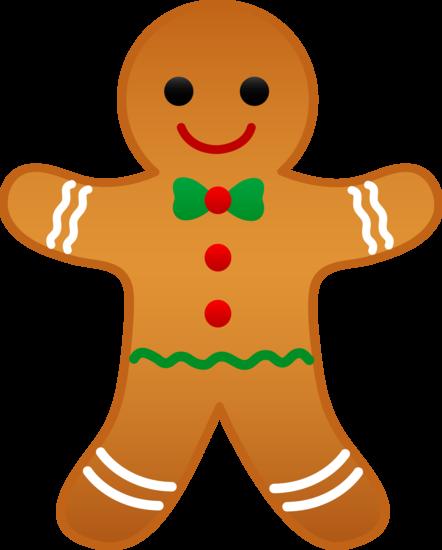 442x550 Christmas Gingerbread Man