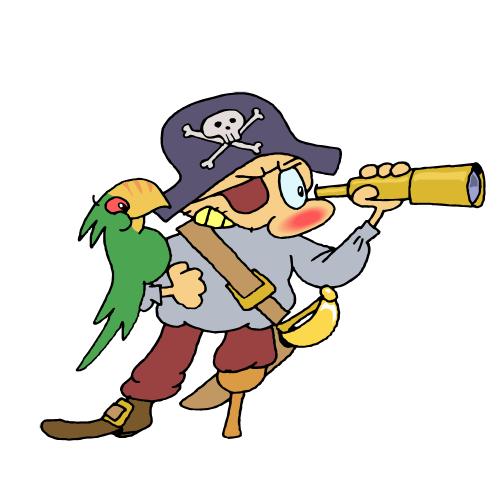 500x500 Gingerbread Clipart Pirate