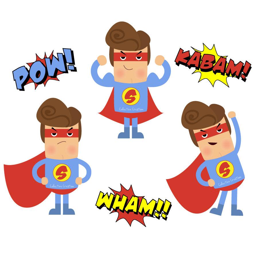 900x900 Top 86 Superhero Clip Art