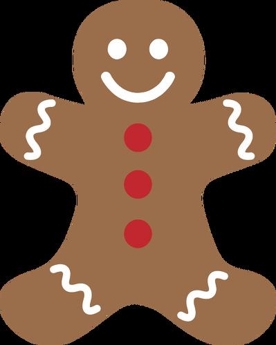 399x500 5840 Free Christmas Gingerbread Man Clipart Public Domain Vectors