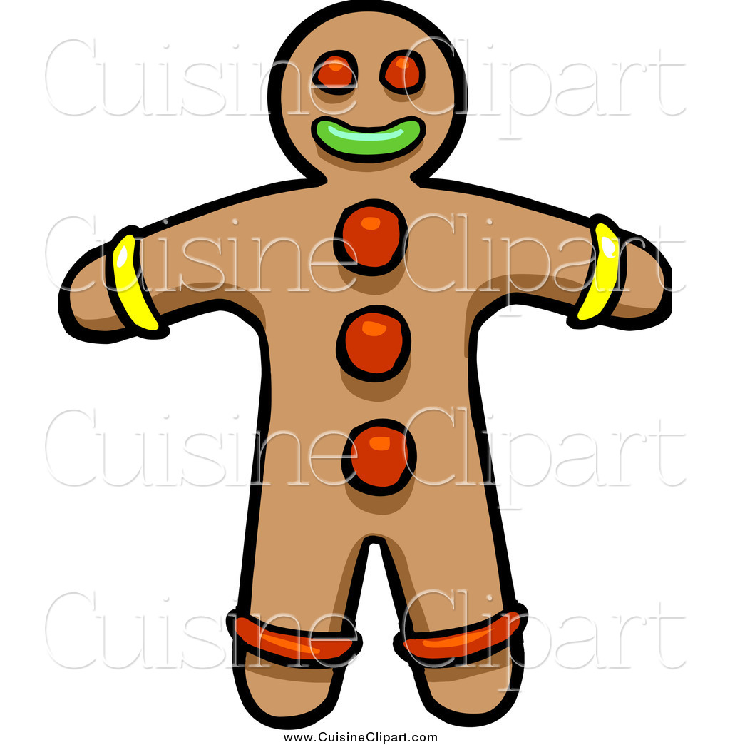 Gingerbread Boy Clipart