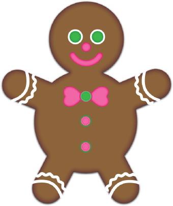 340x405 Gingerbread Boy Clip Art Clipart Panda