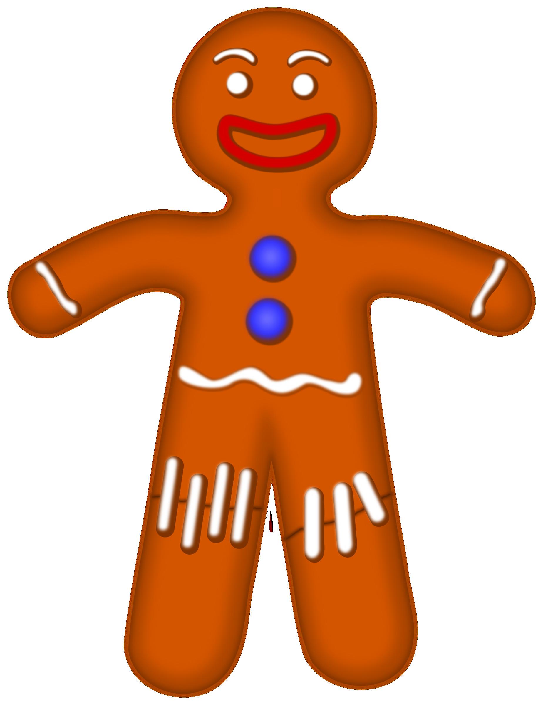1848x2400 Gingerbread Man Clipart Scrapbook Printables Holiday Clip Art